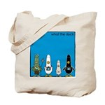 WTD: Blue Album Tote Bag