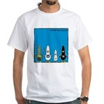 WTD: Blue Album White T-Shirt