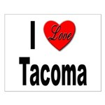 I Love Tacoma Small Poster