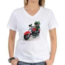 Frog riding motorcycle Shirt