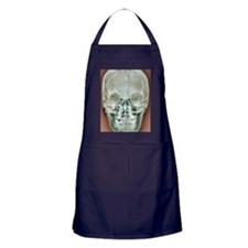 Normal skull, X-ray Apron (dark)