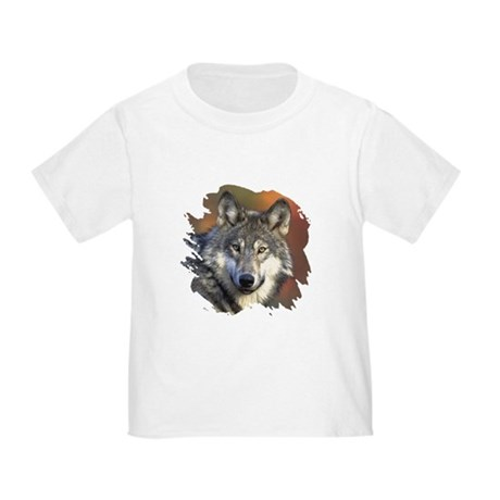 Gray Wolf Toddler T-Shirt