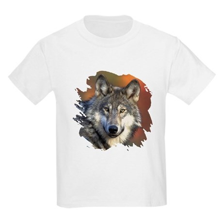 Gray Wolf Kids Light T-Shirt