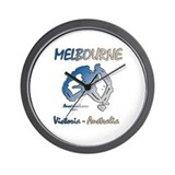 Melbourne Wall Clock