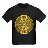 Celtic Dragons Antique Gold T