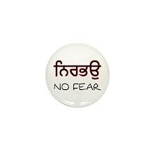Nirbhau - No Fear Mini Button (10 pack)