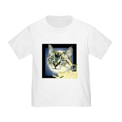 Blue Eyed Kitten Toddler T-Shirt