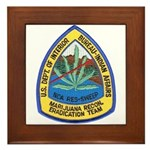 BIA Marijuana Recon Framed Tile