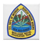 BIA Marijuana Recon Tile Coaster