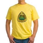 BIA Marijuana Recon Yellow T-Shirt