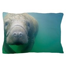 Florida Manatee Pillow Case
