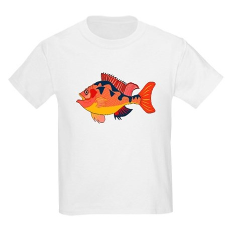 Colorful Fish Kids Light T-Shirt