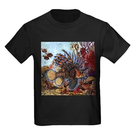Ocean Window Kids Dark T-Shirt