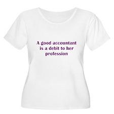 A good accountant is a debit. T-Shirt
