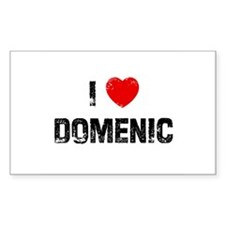 I * Domenic Rectangle Decal
