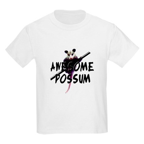Awesome Possum Kids Light T-Shirt