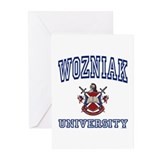 WOZNIAK University Greeting Cards (Pk of 10)