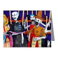 Mexican Folk Art Note Cards (Pk of 10)
