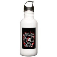 Cen Cal flame logo Water Bottle