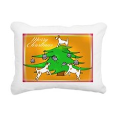 post card jack rats Rectangular Canvas Pillow