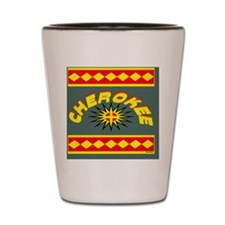 CHEROKEE INDIAN Shot Glass