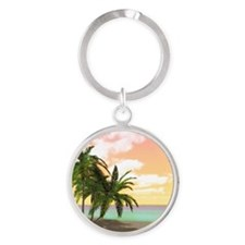 ddi_woman_all_over_tshirt_827_H_F Round Keychain