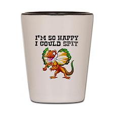 So Happy Spitter Dinosaur Shot Glass