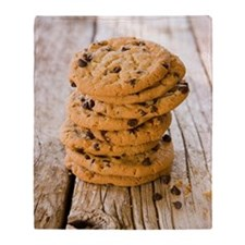 Chocolate chip cookies Throw Blanket