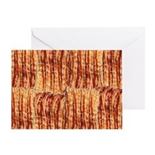 I Love Bacon Greeting Card
