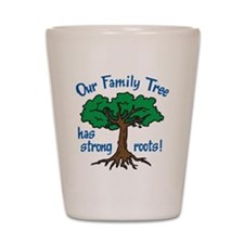 Our Family Tree Shot Glass