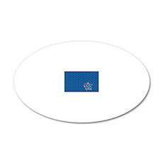 bucket bag hexagon aiyana 2 20x12 Oval Wall Decal