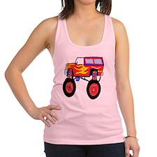 Monster Truck Racerback Tank Top