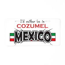 Cozumel Mexico Aluminum License Plate