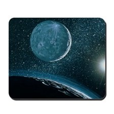 Illustration of Pluto Mousepad