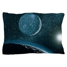 Illustration of Pluto Pillow Case