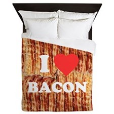 I love Bacon Queen Duvet
