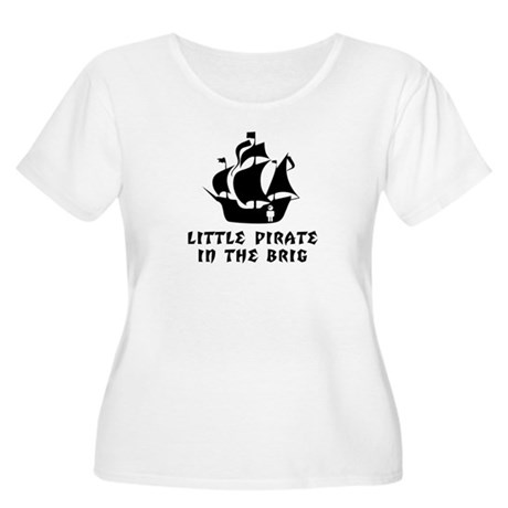 Little Pirate in the Brig Women's Plus Size Scoop