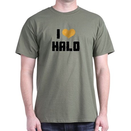 I Heart Halo Dark T-Shirt