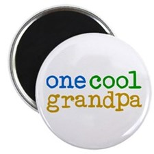 one cool grandpa Magnet