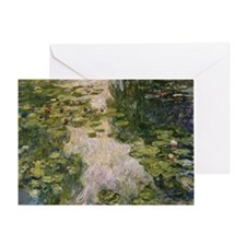 Water Lilies, Monet Greeting Card