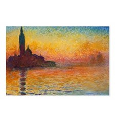Monet, San Giorgio Maggio Postcards (Package of 8)