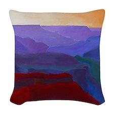 GRAND CANYON AM Woven Throw Pillow
