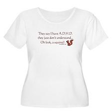 ADHD Squirrel T-Shirt