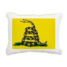 Dont Tread on Me Rectangular Canvas Pillow