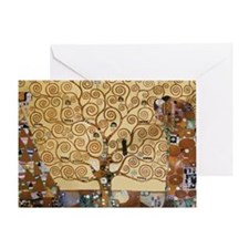 Gustav Klimt Tree Of Life Greeting Card