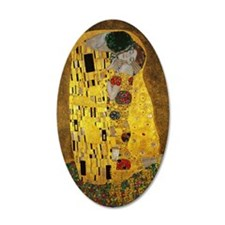Gustav Klimt The Kiss Wall Decal