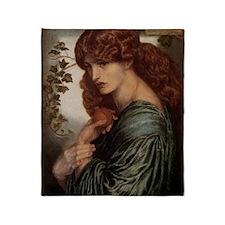Dante Gabriel Rossetti Proserpine Throw Blanket