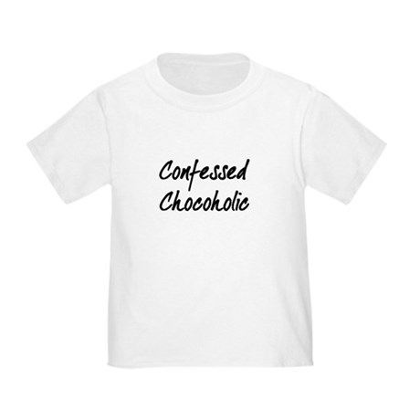 Confessed Chocoholic Toddler T-Shirt