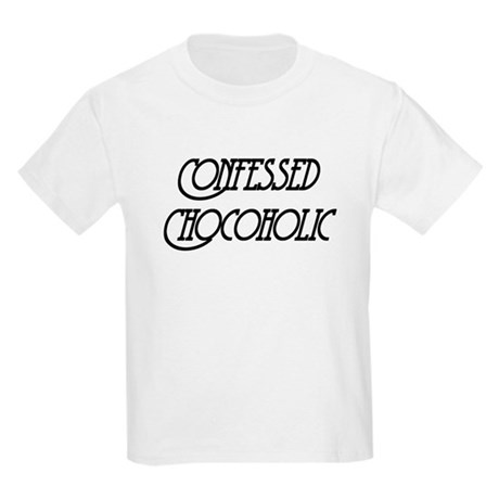 Confessed Chocoholic Kids Light T-Shirt