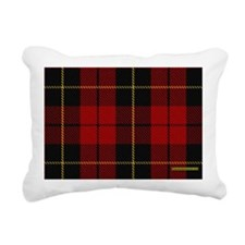 Wallace Tartan Shoulder  Rectangular Canvas Pillow
